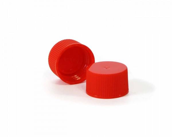 Schraubverschluss für Plastikflaschen rot