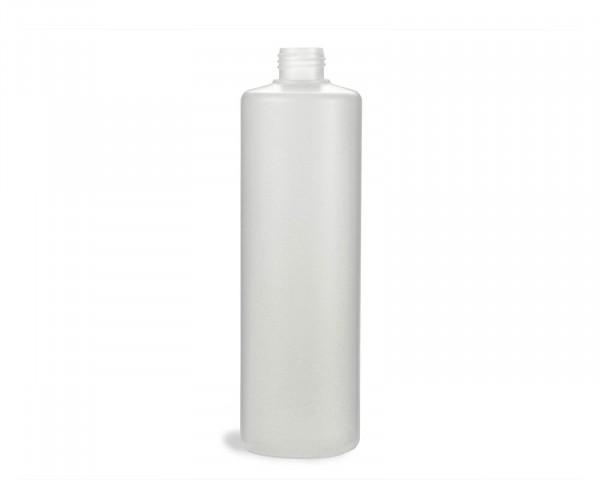 500 ml Rundflasche mit 25 mm Gewinde aus HDPE