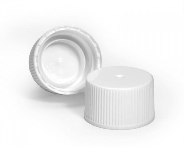 Schraubverschluss für Plastikflaschen weiß