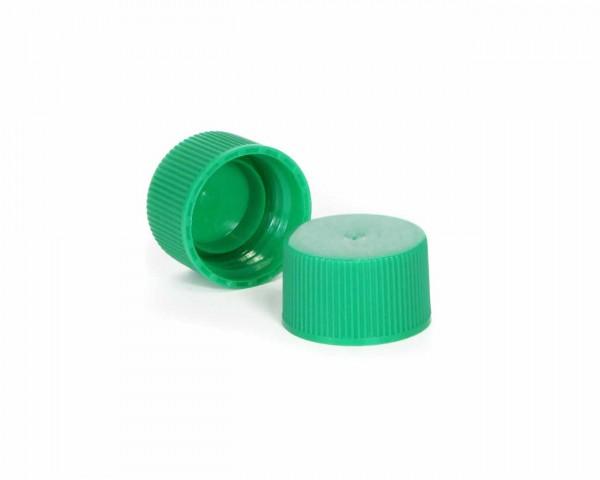 Schraubverschluss für Plastikflaschen grün