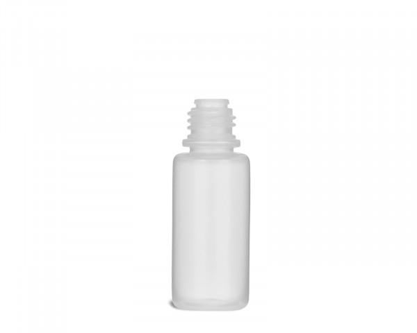 10 ml Plastikflasche aus LDPE mit 14 mm Gewinde