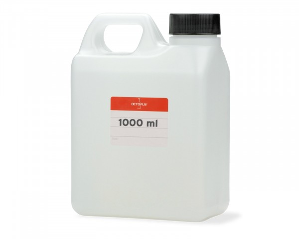 1000 ml Kanister aus HDPE, Kanisterflasche, Wasserkanister G40 mit schwarzem Schraubverschluss