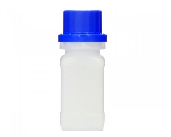 50 ml Weithalsflasche mit Schraubverschluß, Chemiekalienflasche, Laborflasche