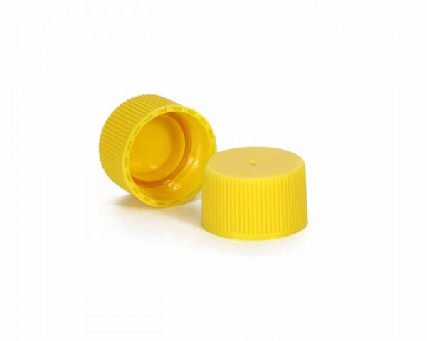Schraubverschluss für Plastikflaschen gelb