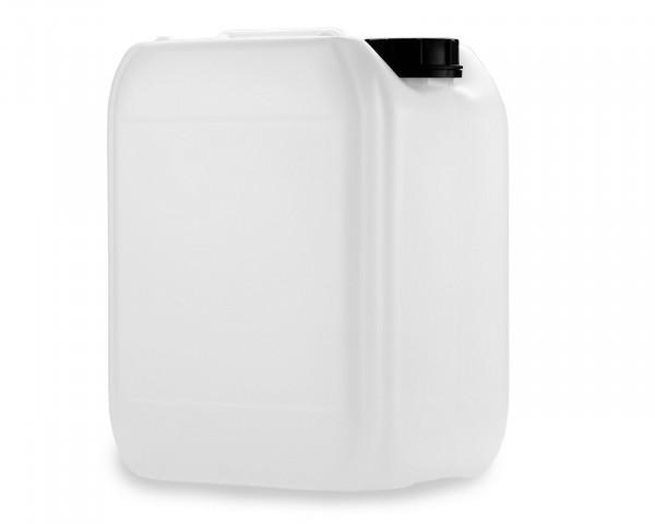10L Kanister aus HDPE natur mit Verschluss, Gewinde 51mm