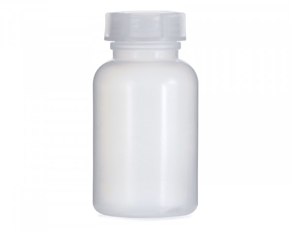 250 ml Weithalsflasche mit Schraubverschluß, Chemiekalienflasche, Laborflasche