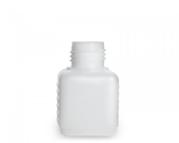 50 ml Plastikflasche aus HDPE mit 25 mm Gewinde