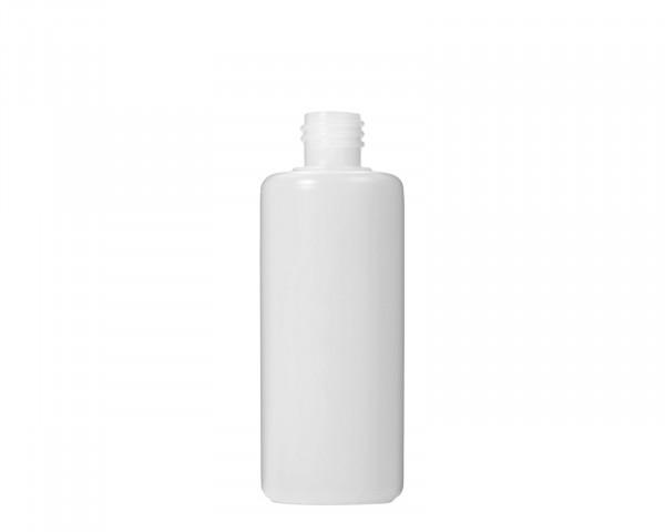 100 ml Plastikflasche aus HDPE mit 18 mm Gewinde